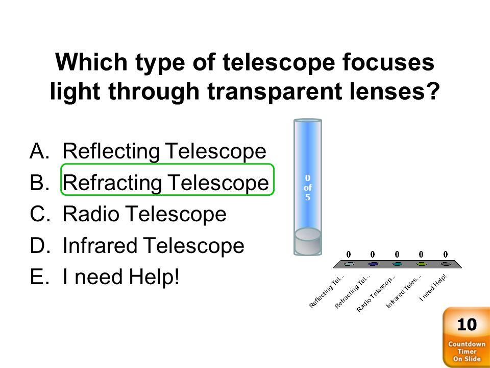 spectrographs radio telescopes space telescopes Optics and telescopes  instruments for telescopes: spectrographs  to improve the angular resolution of radio telescopes.