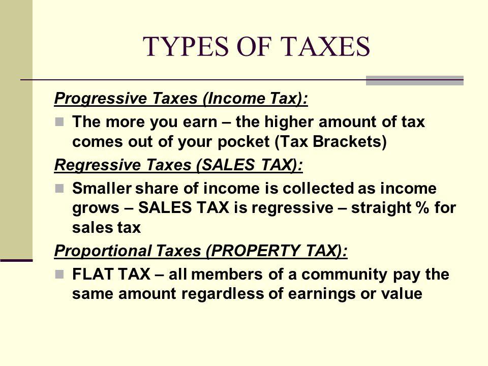 Property Tax Progressive Or Regressive