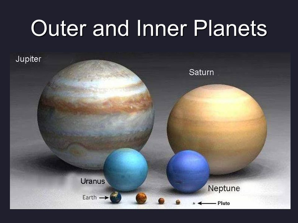 inner and outer planets ppt - photo #20