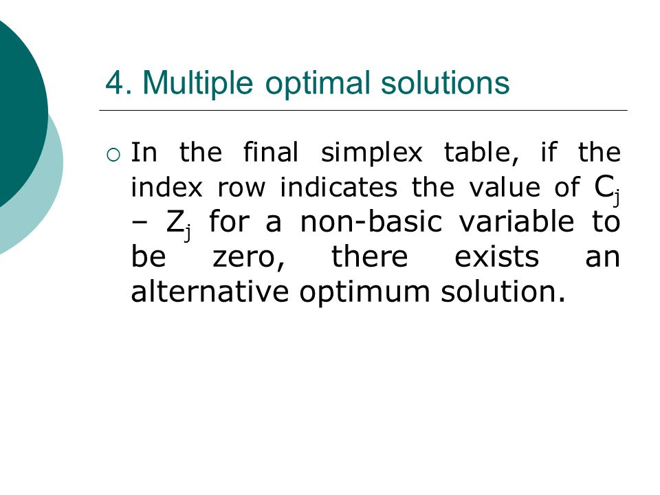 simplex method problems with solutions pdf