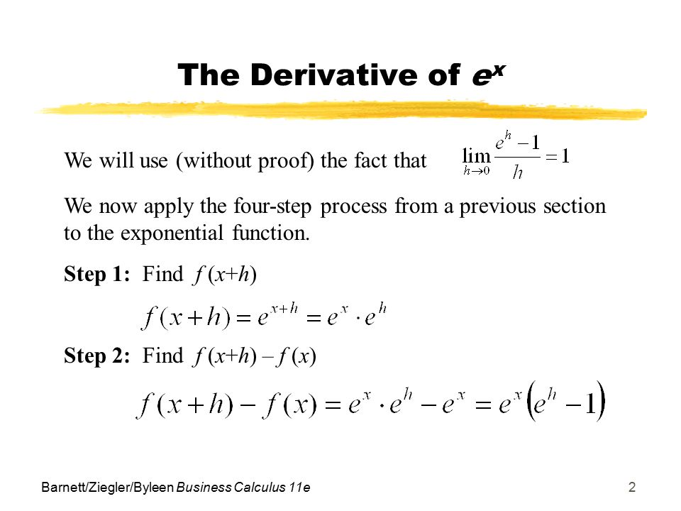 derivative and exp Socratic meta featured answers calculus  science anatomy & physiology  what is the derivative of #e^.