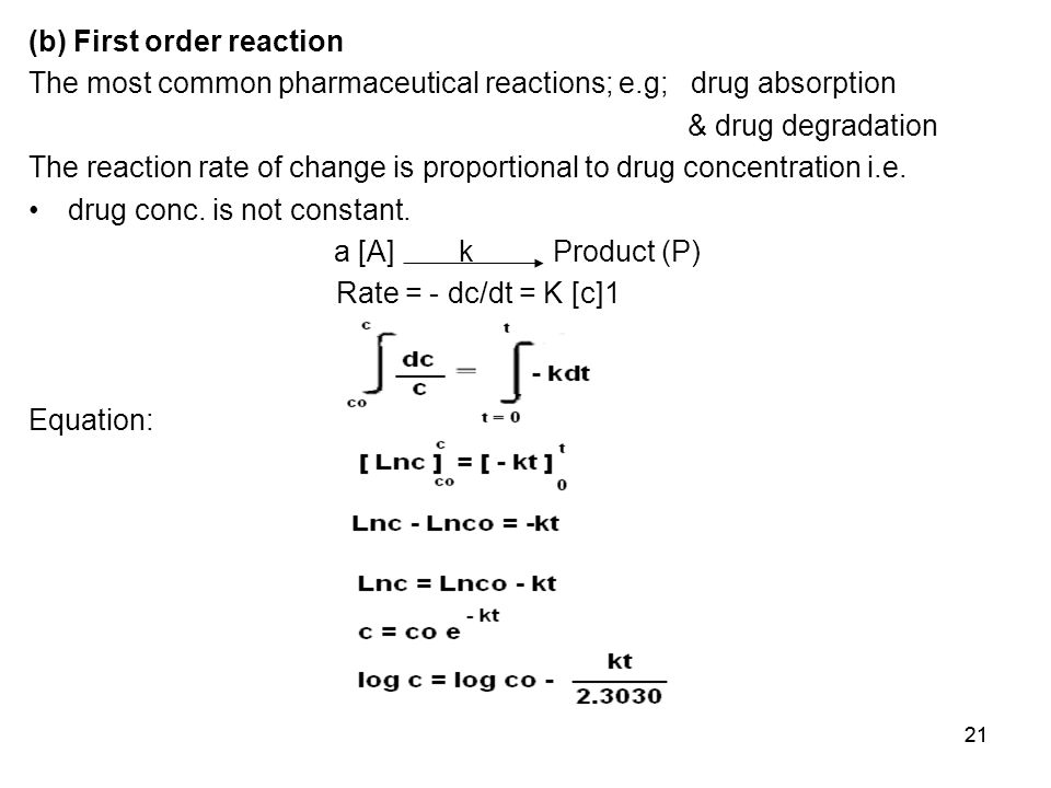 how to find rate constant for first order reaction