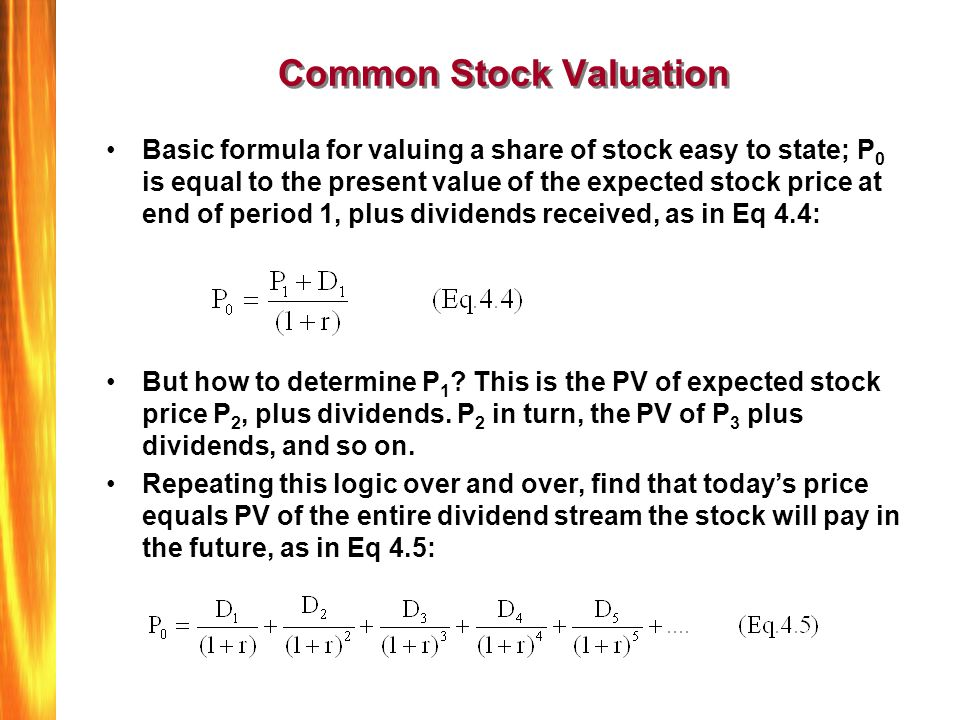 Bond and stock valuation / Pay prudential online