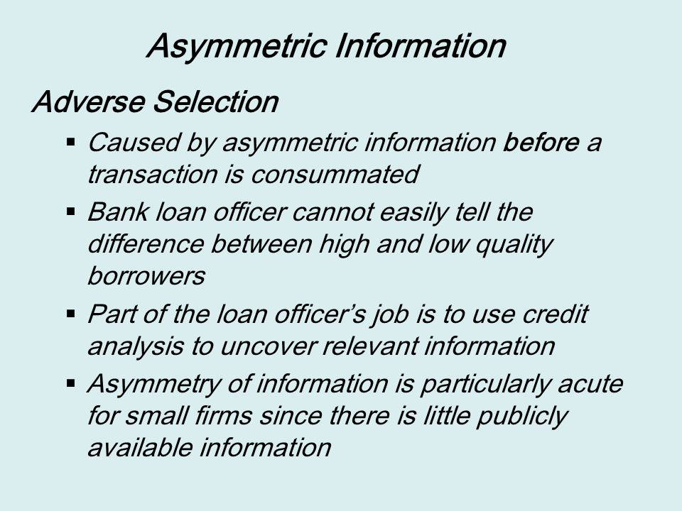 """assymetric information When healthcare is a """"lemon"""": asymmetric information and market failure in 1970 george akerlof published """"the market for """"lemons"""": quality uncertainty and."""