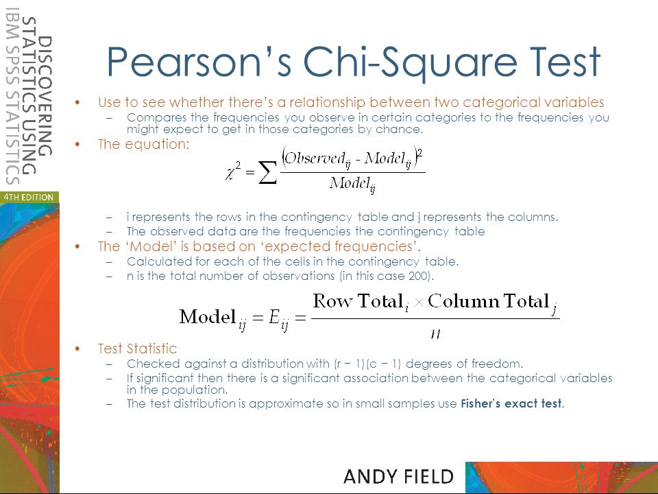 Categorical data prof andy field ppt download for Chi square table df 99