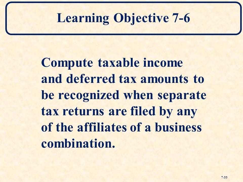 how to compute income tax return