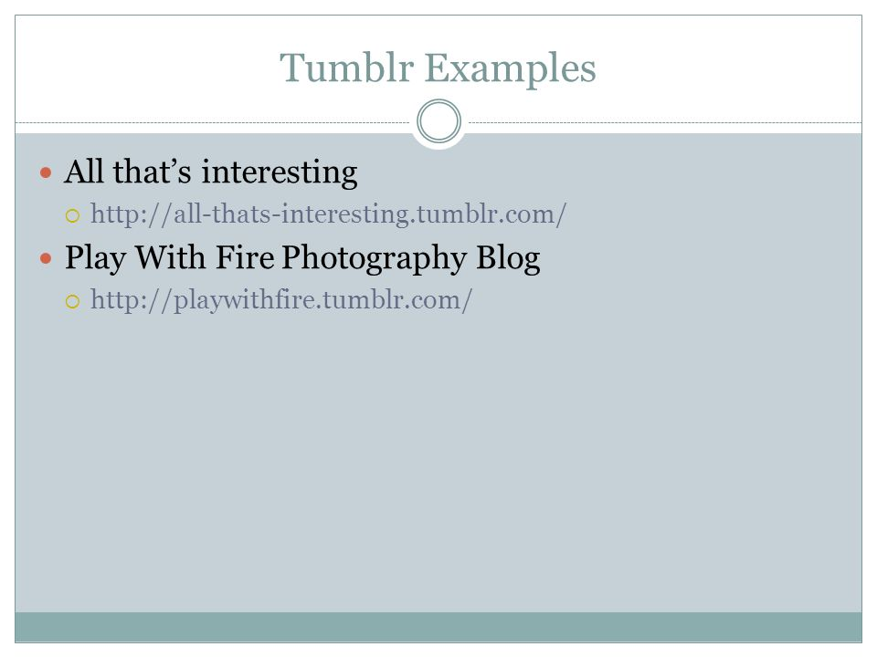Tumblr Examples All that's interesting Play With Fire Photography Blog