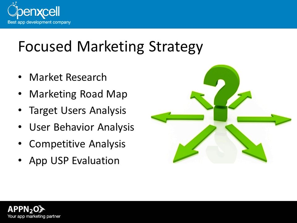 Focused Marketing Strategy