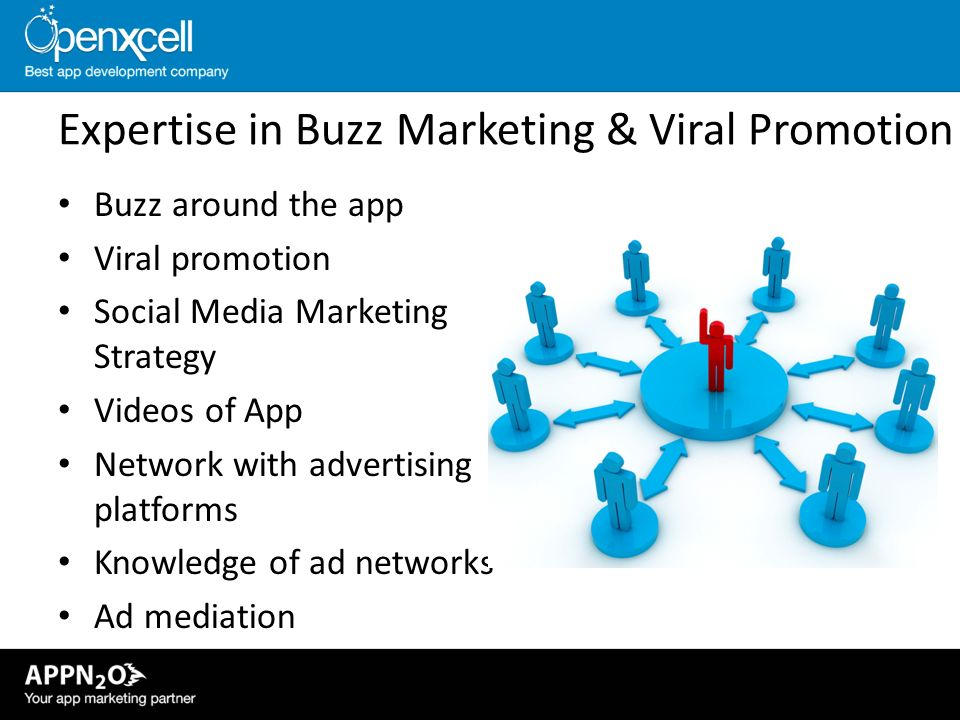 Expertise in Buzz Marketing & Viral Promotion