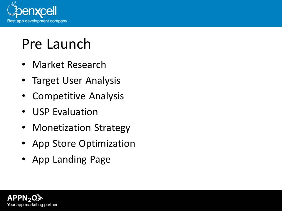 Pre Launch Market Research Target User Analysis Competitive Analysis