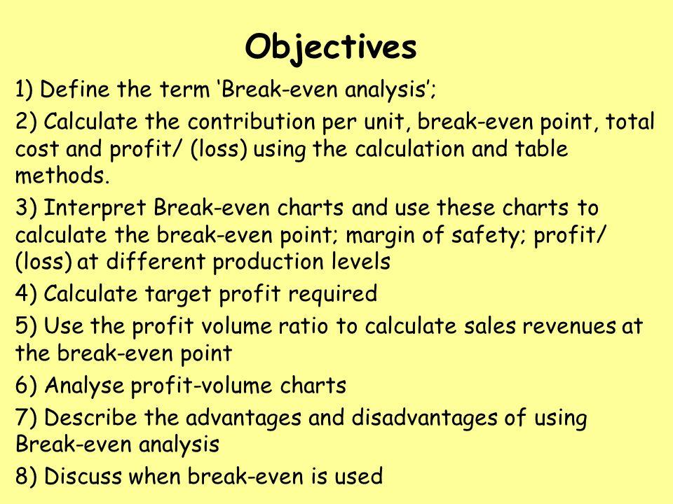 AAT Level 3 Break Even Analysis ppt download – Define Breakeven Analysis