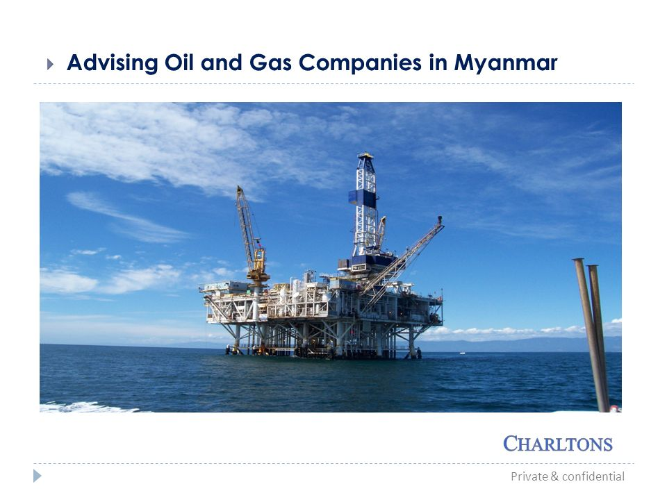 Introduction The regulation of the oil and gas sector in Myanmar has  undergone rapid change since the introduction of political reforms The  Constitution