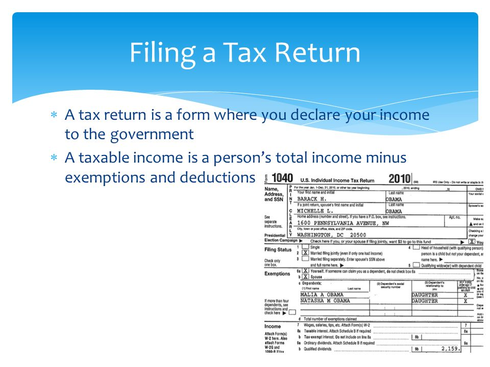 Tax Return Unemployment Tax Return