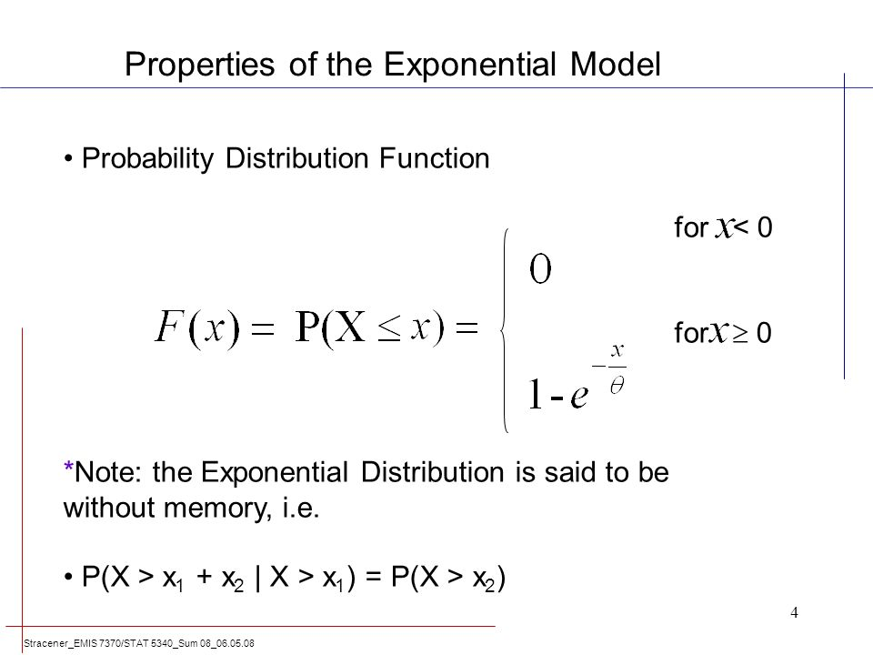 -Exponential Distribution -Weibull Distribution - ppt ...