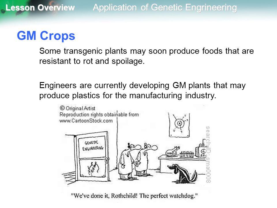 application of genetic engineering pdf