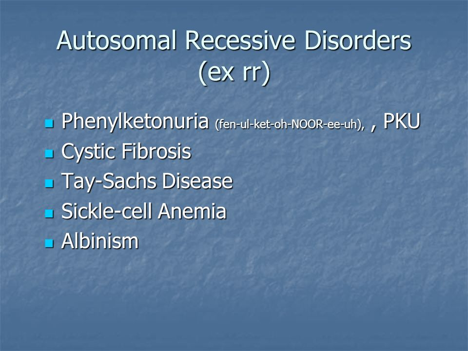 cystic fibrosis pku and the digestive Phenylketonuria (pku), an inherited disorder in which signs and symptoms vary  from  spreads essential tips to manage diabetes what is cystic fibrosis.