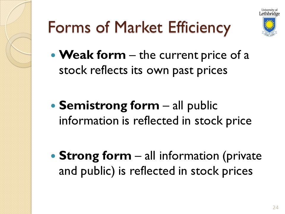 the weak form efficiency of the gcc Is the saudi stock market efficient of weak form efficiency in indian stock market efficiency and strategies for developing gcc.