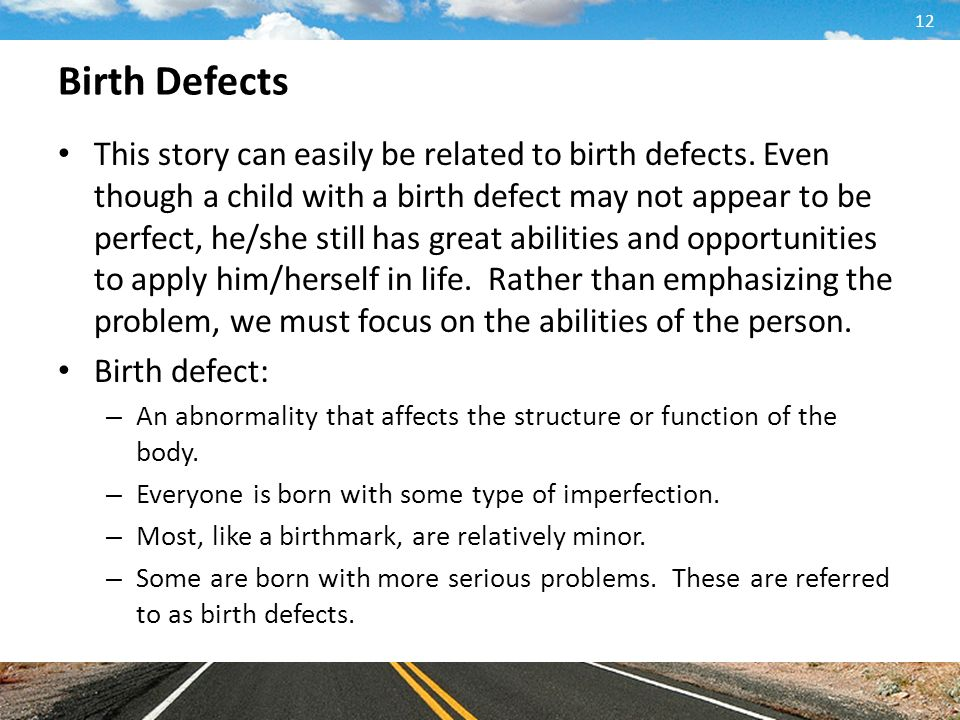 the statistics of birth defects and related complications Birth defects are conditions present at birth that most often occur during the first trimester of pregnancy and  national center for health statistics birth defects.