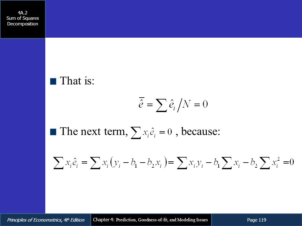 Sum of Squares Decomposition