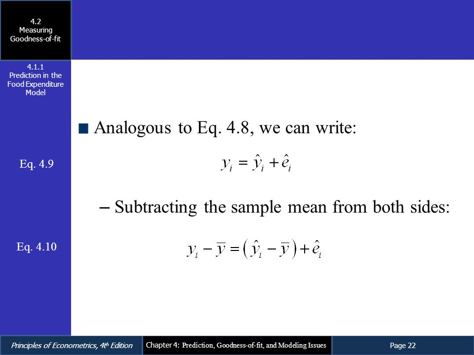 Analogous to Eq. 4.8, we can write:
