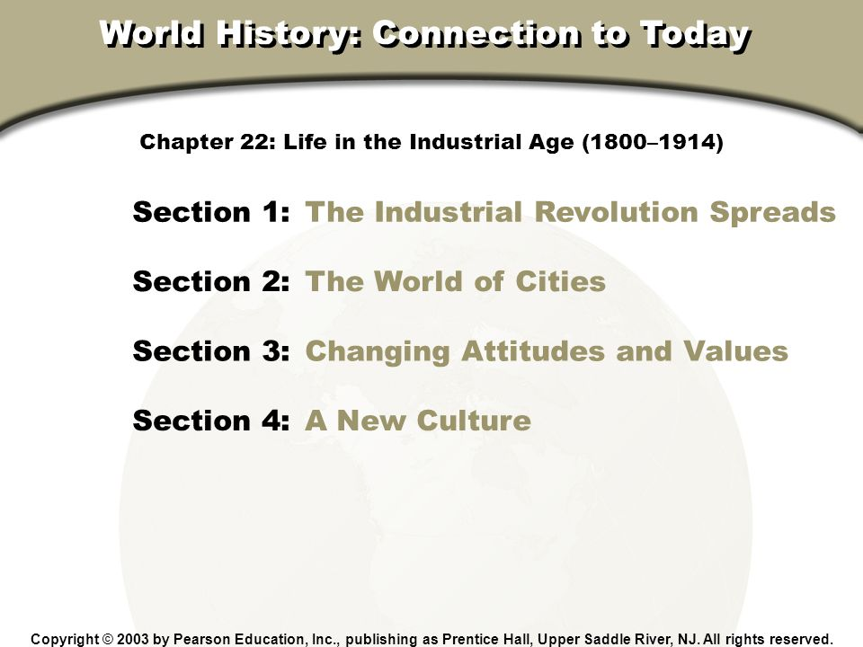 changes in todays life due to the industrial revolution The industrial revolution undeniably affects how we live in this day and age   saw that scientific and technological developments would make their lives much  easier  one of the major changes that were seen during and after the industrial .