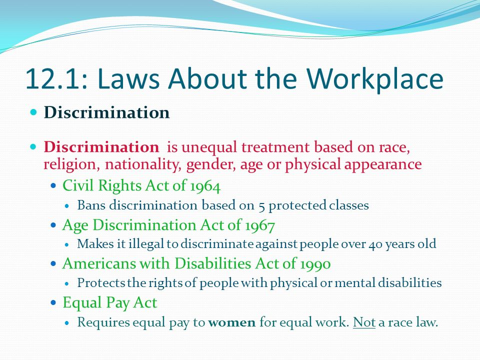 age discrimination in the workplace pdf