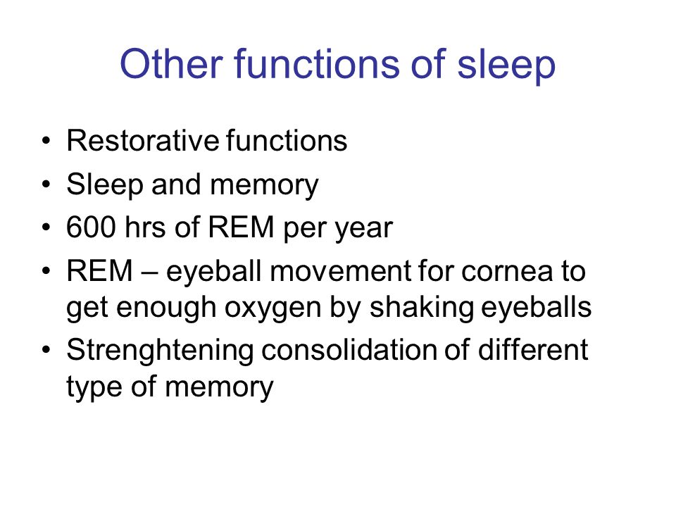 Other Functions Of