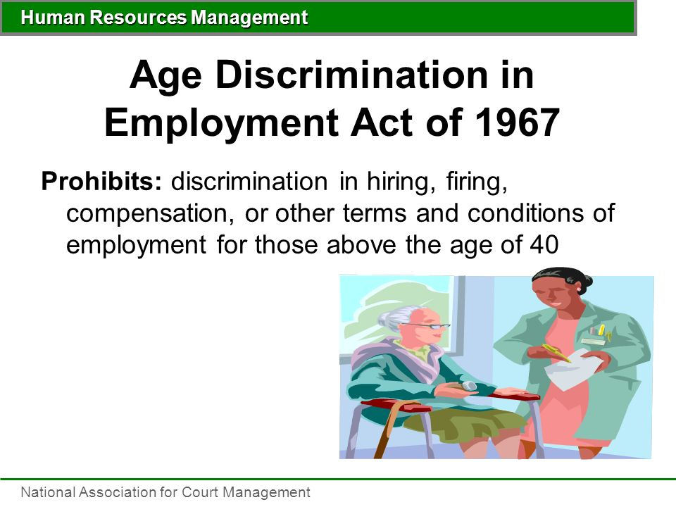 Age Discrimination Fact Sheet