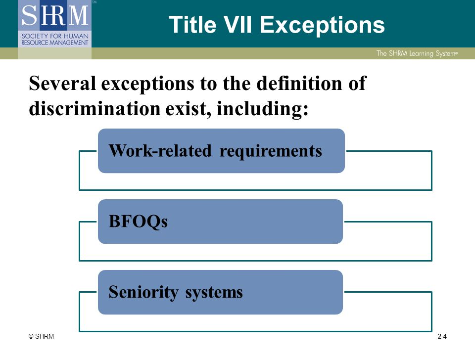 a description of the different existing laws prohibiting job discrimination Specific job descriptions can help avoid discrimination lawsuits july 26, 2013 by daniel kalish when an employee brings a discrimination lawsuit against his employer, the employee's job description is one piece of evidence that washington courts will consider.