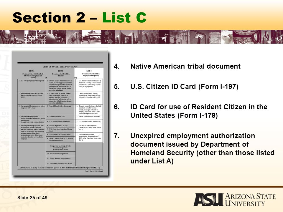 Office of Human Resources Authorization to Complete I-9 Forms ...