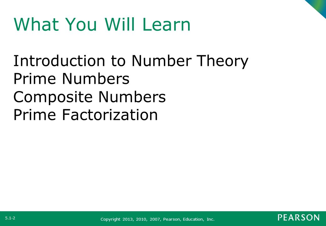 Section 51 number theory ppt video online download what you will learn introduction to number theory prime numbers publicscrutiny Image collections