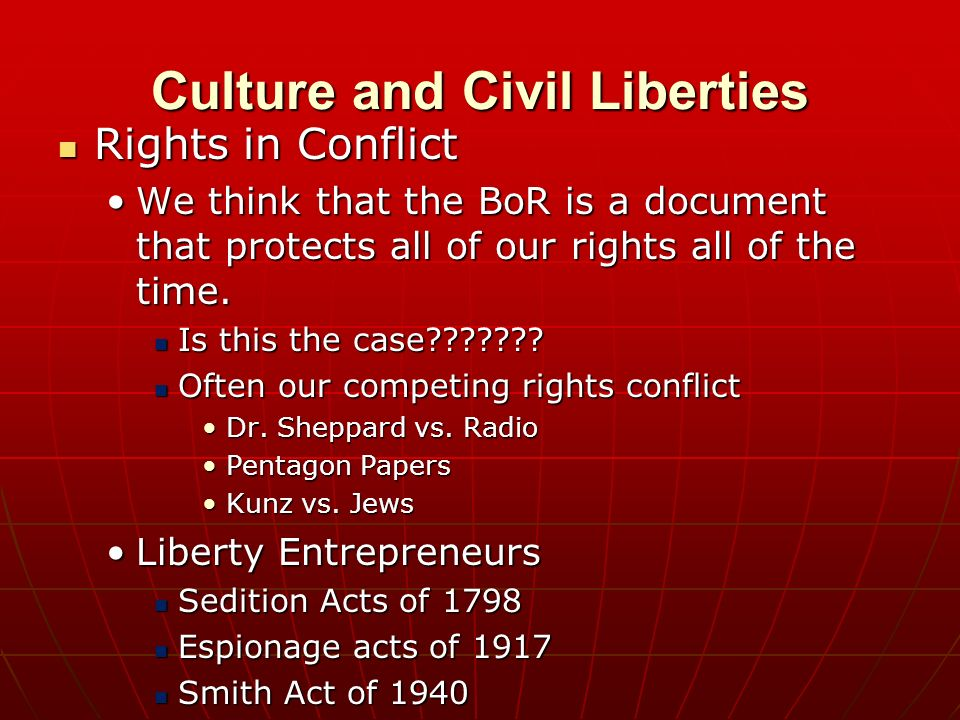 essay on civil liberty Wordpress shortcode link sample essay on civil liberties 150 views this paper seeks to analyze the activities of civil liberties and the other events after 1865 to date (bowels, 2011.