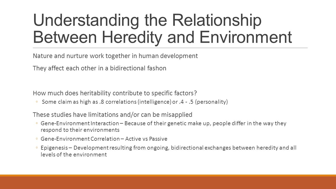 relationship between heredity and iq