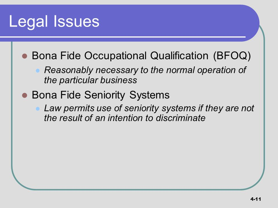 Write my Paper Bona Fide Occupational Qualifications