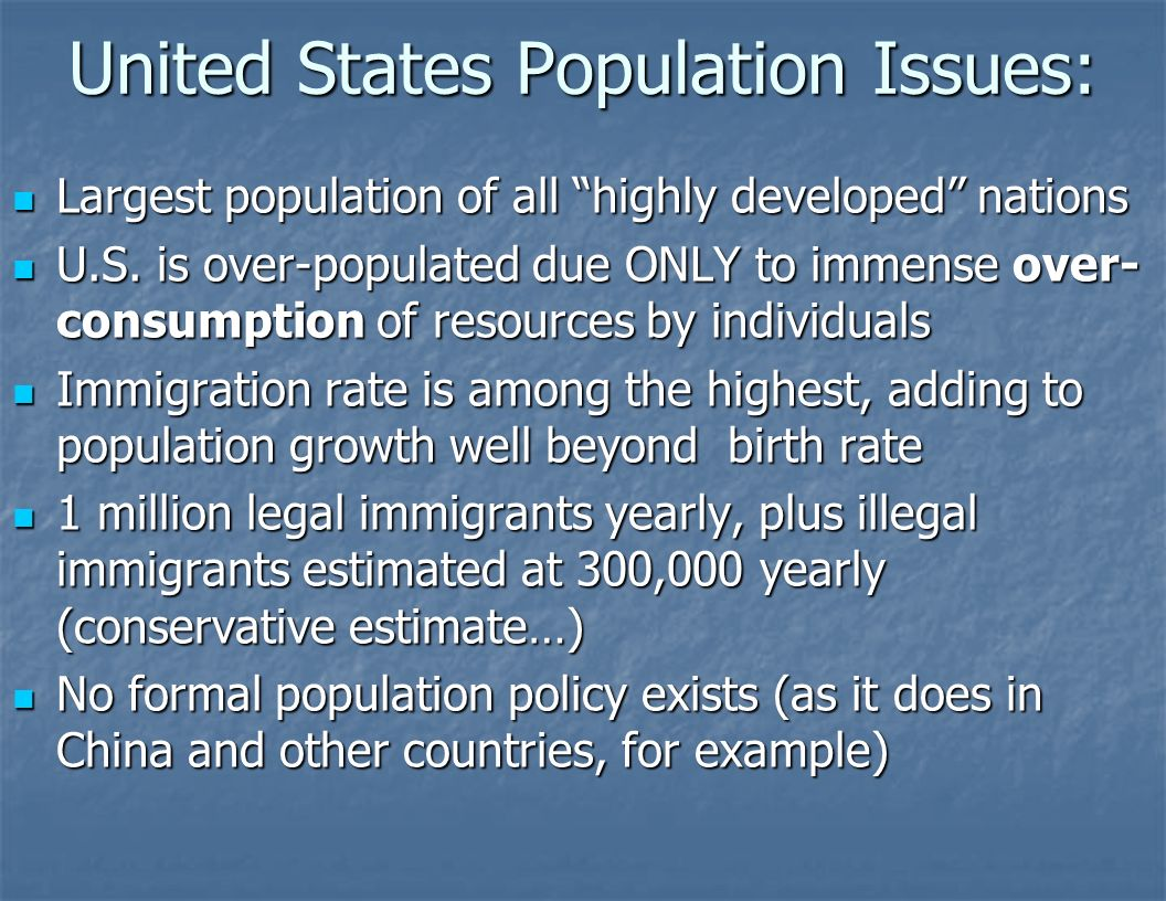 the issue of the population increase in jails in the united states For most of the 20th century, us prison rates were fairly low and stable  for  example, black individuals comprise 13% of the us population.