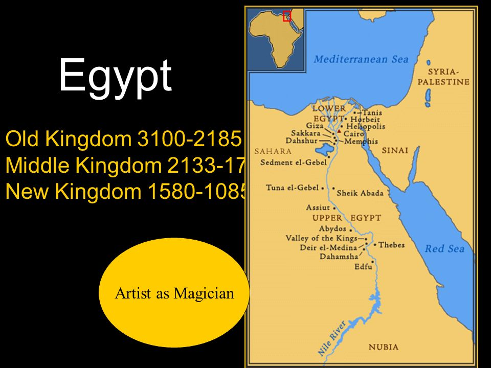 Egypt Old Kingdom BC Middle Kingdom BC Ppt Video Online Download - Map of egypt old kingdom