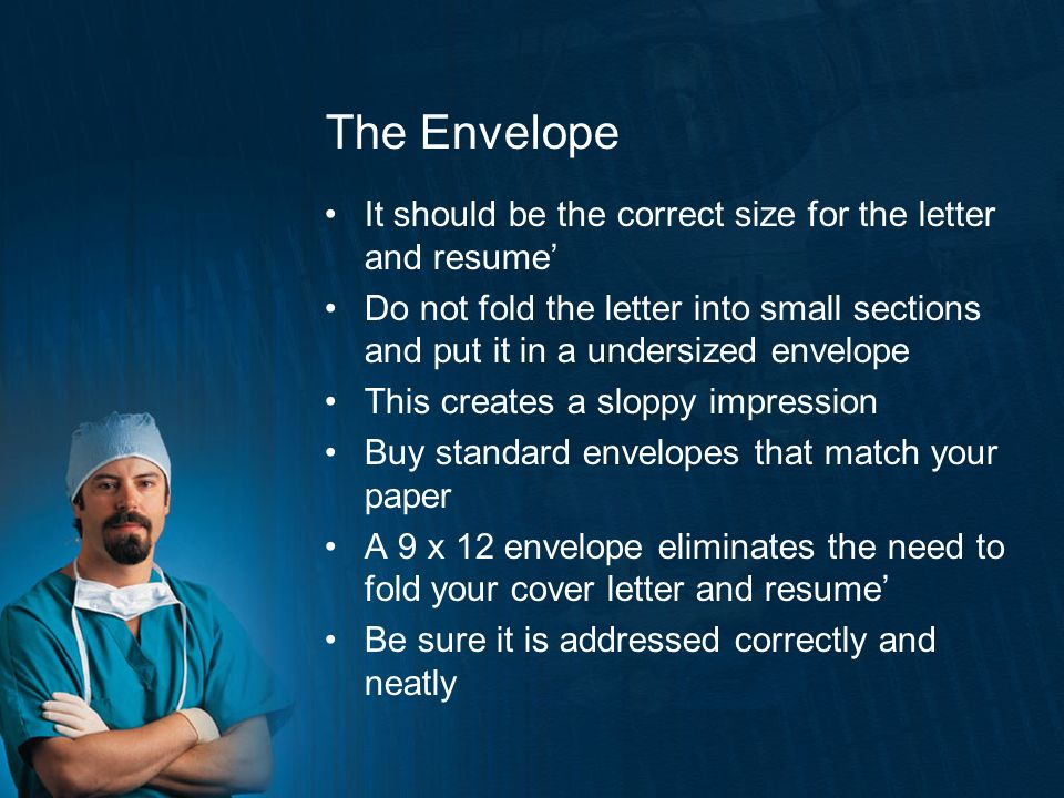 Resume Cover Letter Envelope  Resume  Ixiplay Free Resume Samples
