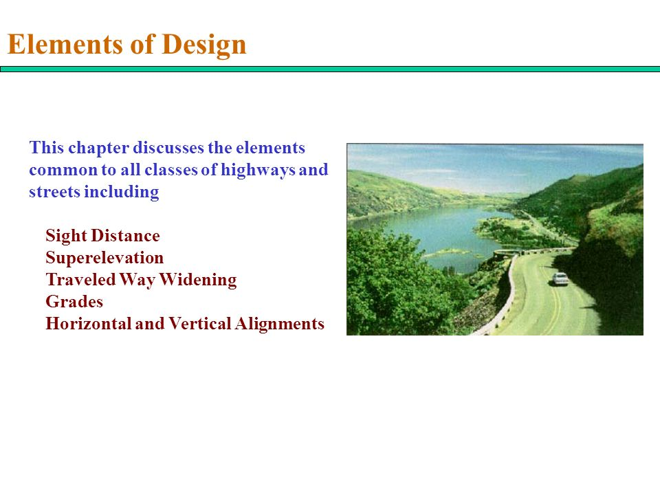 All Elements Of Design : Elements of design this chapter discusses the