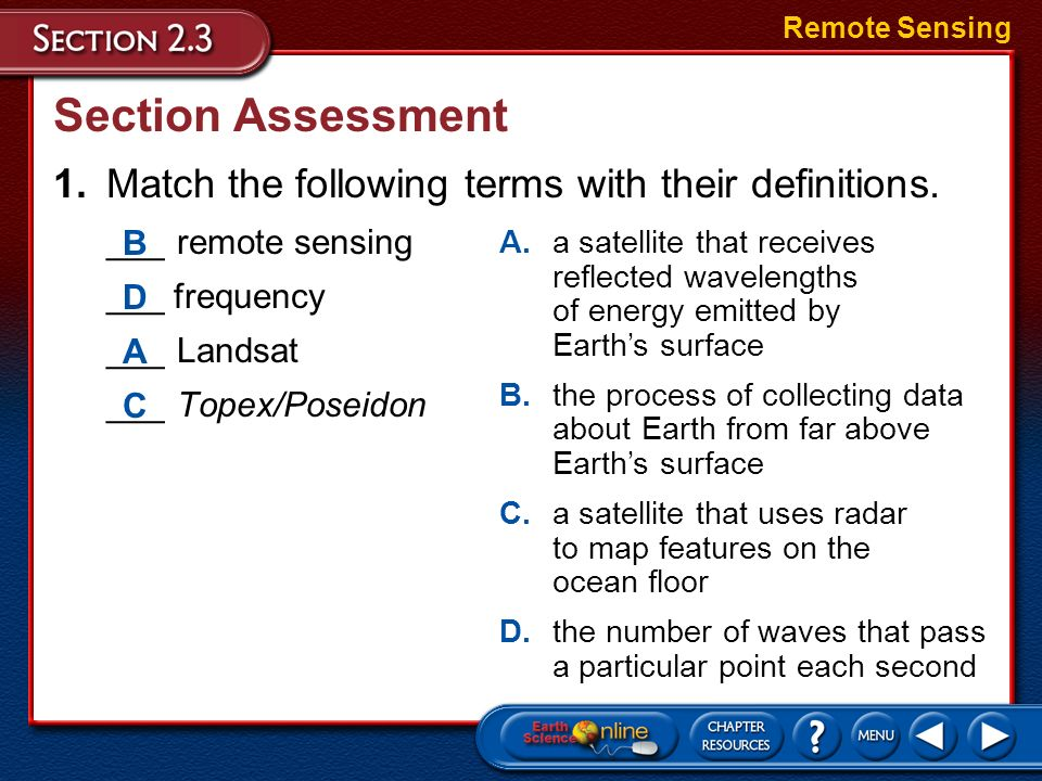 Objectives vocabulary compare and contrast latitude and for Match the ocean floor feature with its characteristic