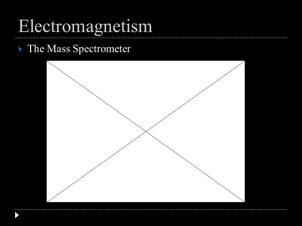 Electromagnetism mass spectrometers essay