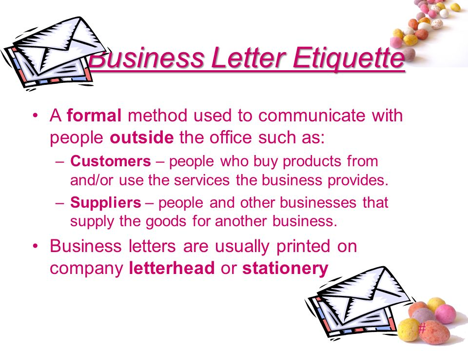 Professional Business Writing Etiquette Guidelines