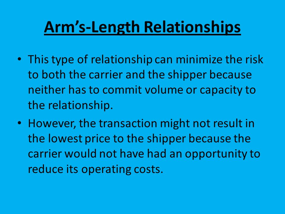 carrier relationship strategy