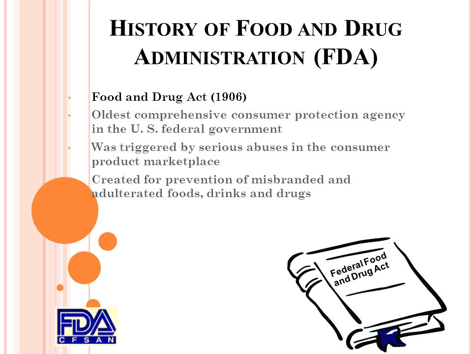 food and drug administration The us food and drug administration (fda) has just finished screening the first diagnostic blood test that can be used.