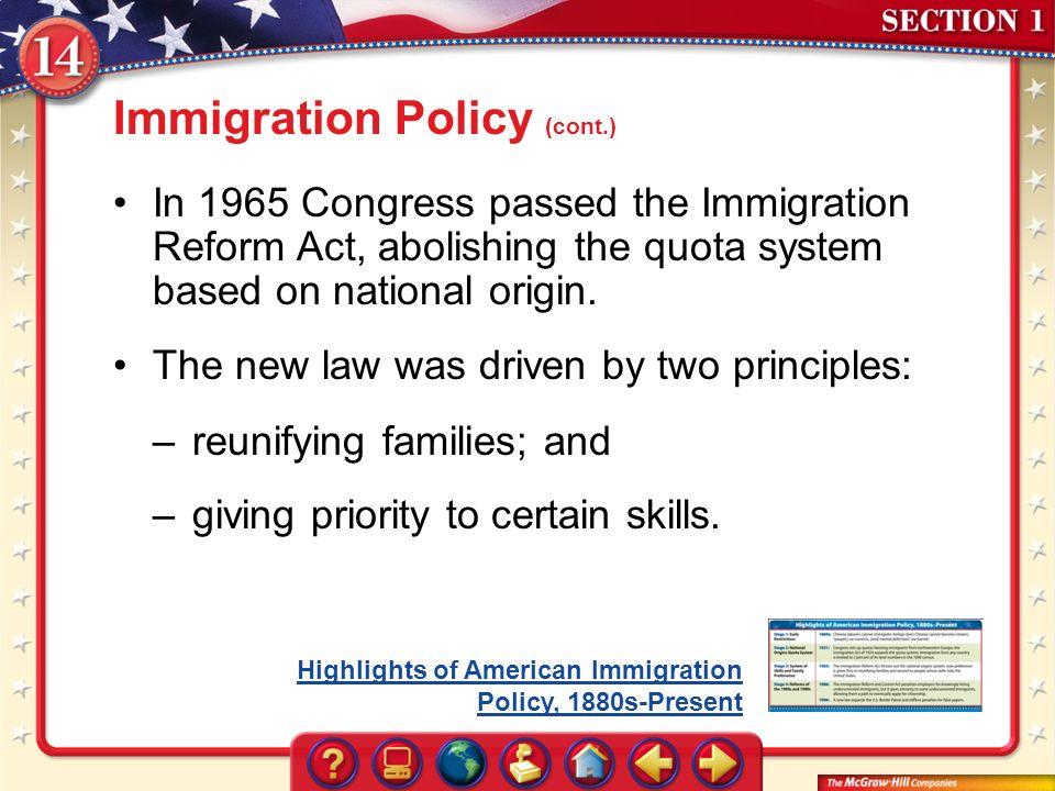 Quota system