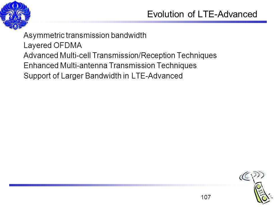Evolution of LTE-Advanced