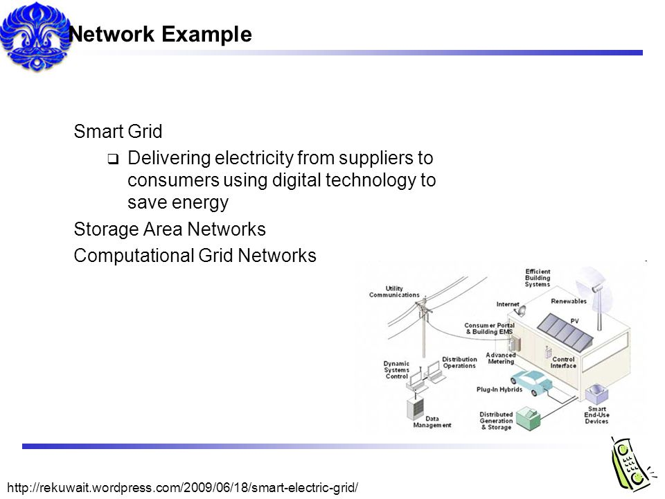 Network Example Smart Grid
