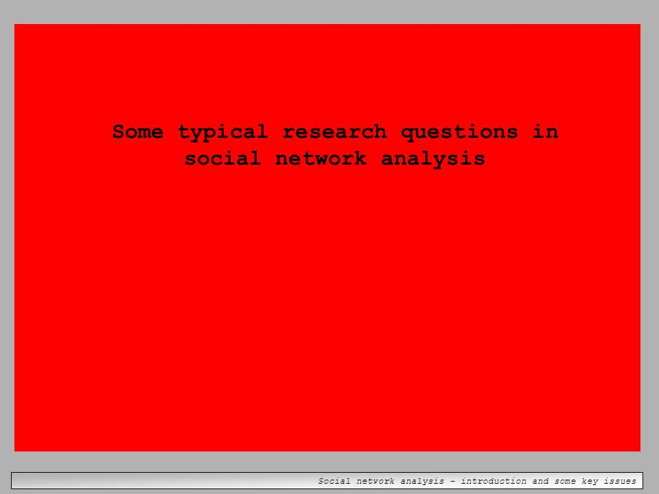 an introduction to the analysis of social capital They also bring social capital,  burt, r, brokerage and closure an introduction to social capital  the international network for social network analysis is a .