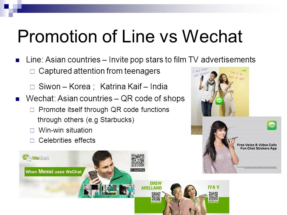 wechat vs line A few months ago, wechat announced that they are partnering with gap to launch a range of wechat branded clothing (see picture below) wechat's first major foray into releasing official branded merchandise but it seems that this is could just be the beginning of wechat's plans to move into more merchandising and theres some big clues that point to wechat opening their own branded.