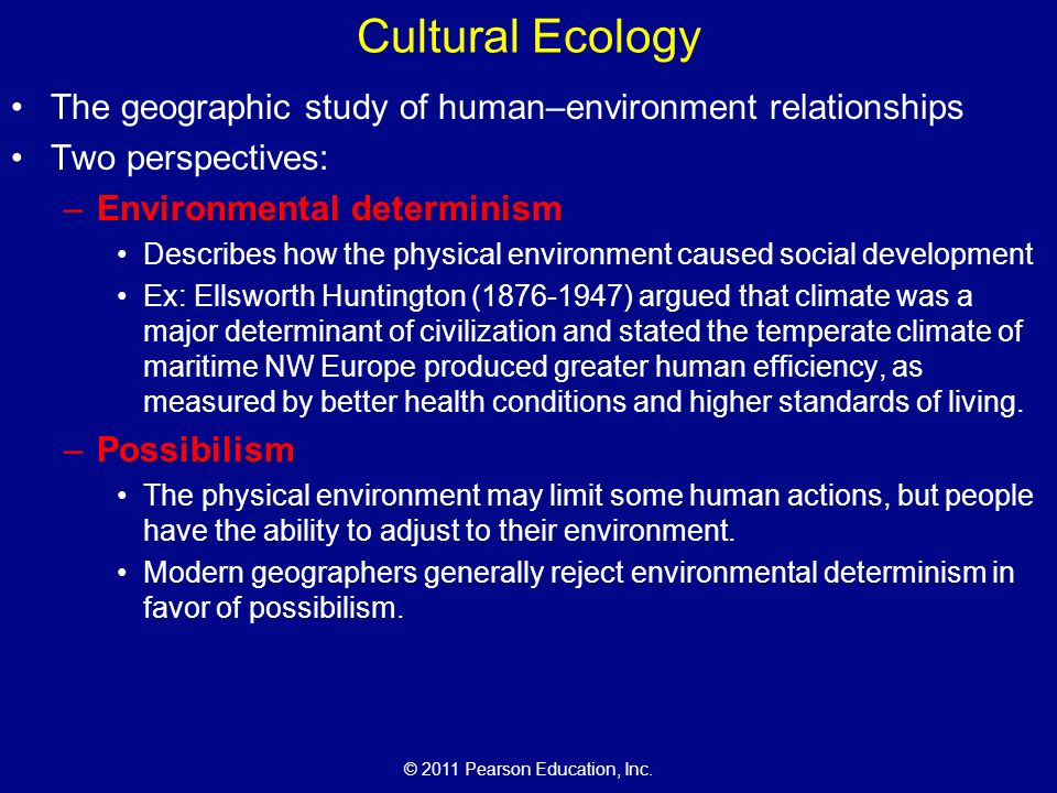 2020 Geographical Possibilism Pdf Cultural+Ecology+The+geographic+study+of+human%E2%80%93environment+relationships.+Two+perspectives%3A+Environmental+determinism.