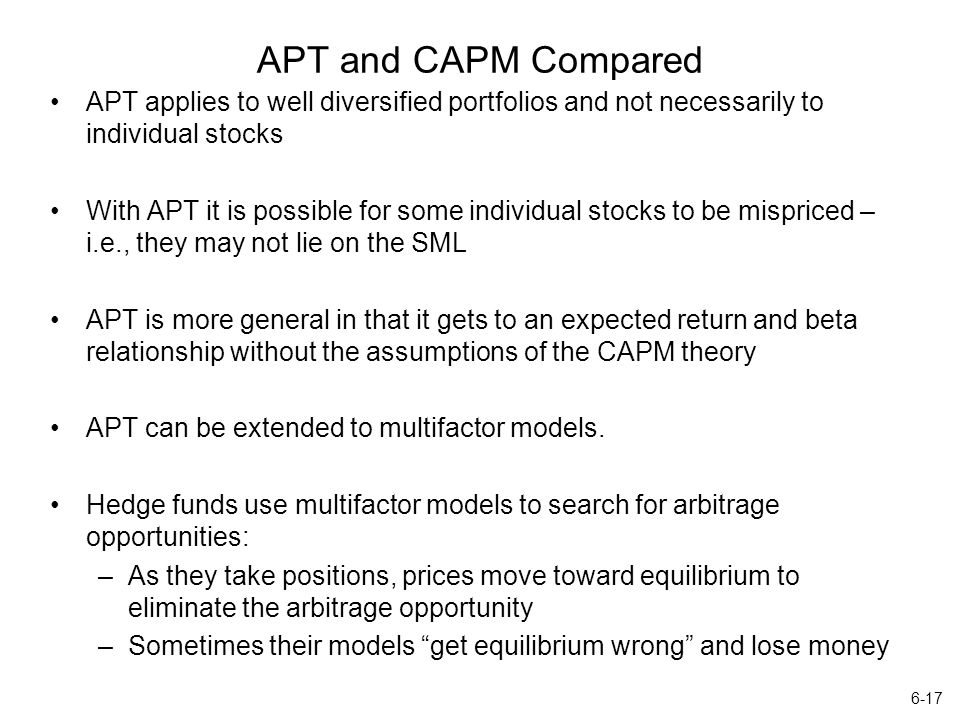 the theoretical limitations of using capm finance essay The capital asset pricing model: theory  the paper, portfolio selection by  harry markowitz, established the idea of  when you calculate the risky asset's  rate of return using capm, that rate can then be used to discount  the  assumption that there is a single representative investor limits the model's.